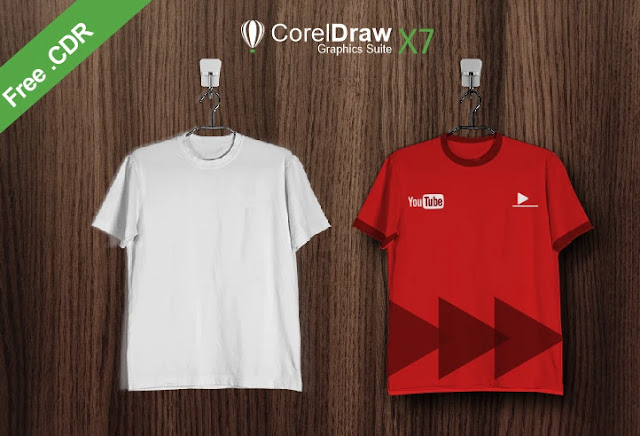 Download Desain Kaos CorelDraw CDR