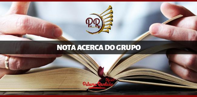 NOTA ACERCA DO GRUPO