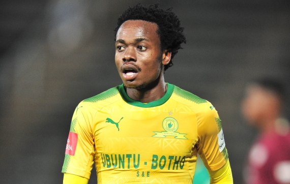 Percy Tau of Mamelodi Sundowns (Picture: Backpagepix)