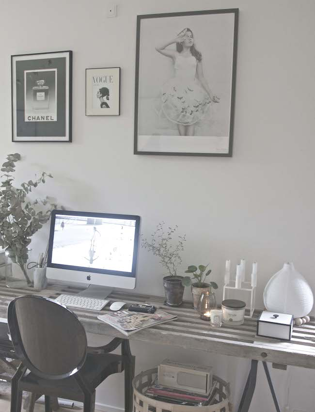 DIY desk by Anya adores design