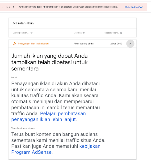 How to Resolve the Problem of Restricting Google Adsense