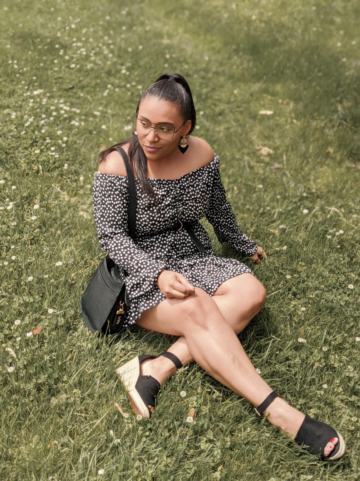 shein, shein reviews, shein dress, summer outfit ideas, pattys kloset, floral summer dresses, off the shoulder dress