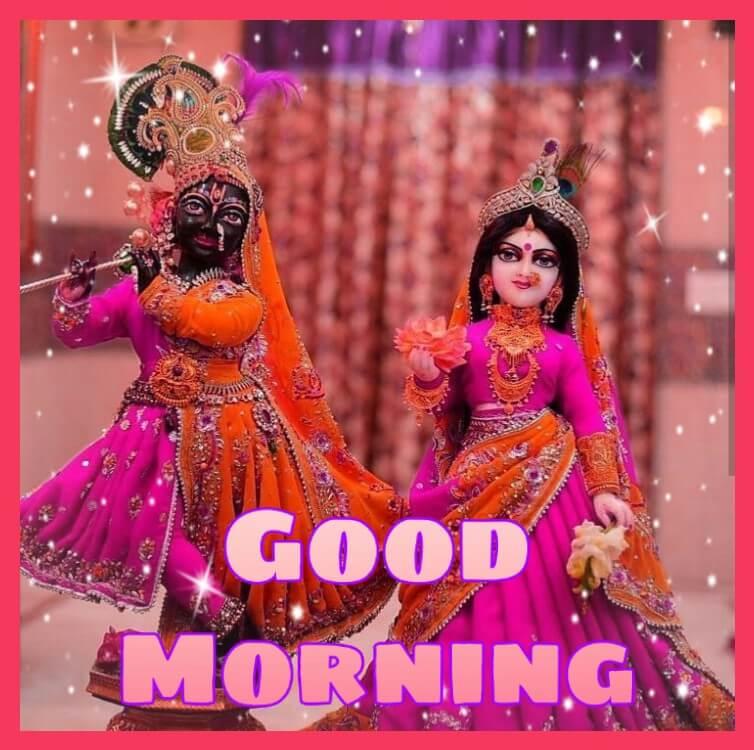 100 Plus Good Morning Radhe Krishna Images Wallpaper Free Download Best Wishes Image