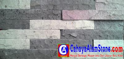 batu susun sirih mozaik wall cladding