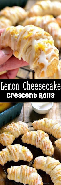 Yummy Lemon Cheesecake Crescent Rolls Recipe