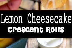 Yummy Lemon Cheesecake Crescent Rolls Recipe