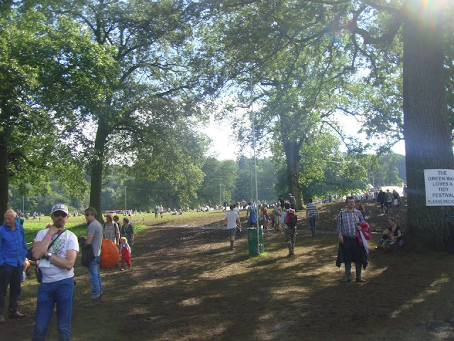 Green Man, festival, entrance