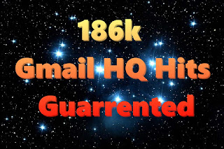 186k Gmail HQ Hits Guarrented