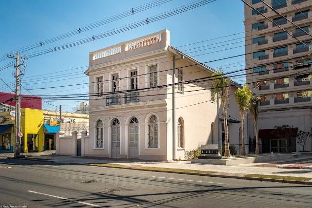 Casa que fazia parte da antiga Cervejaria Cruzeiro