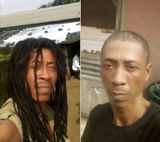 Nigerian man cries for justice as he accuses SARS of cutting off his father's locs for no reason