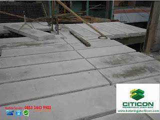 Jasa Pasang Panel Lantai CITICON (Cor dag beton instan)