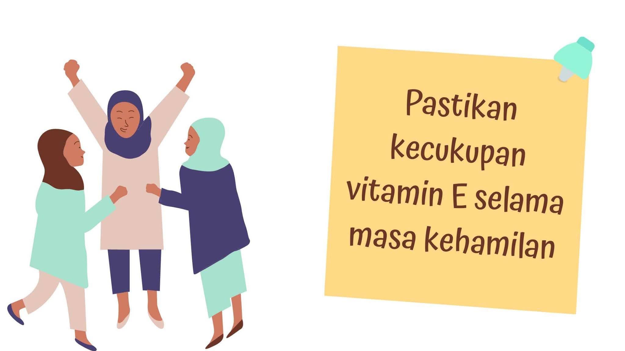 Pastikan asupan vitamin E