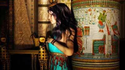 Dewi Hathor, Mata Ra
