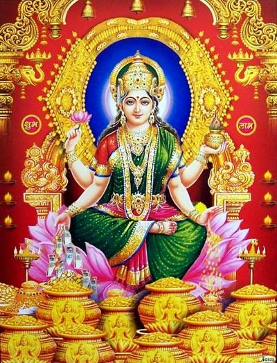 Hindu Goddess mahalaxmi wallpaper