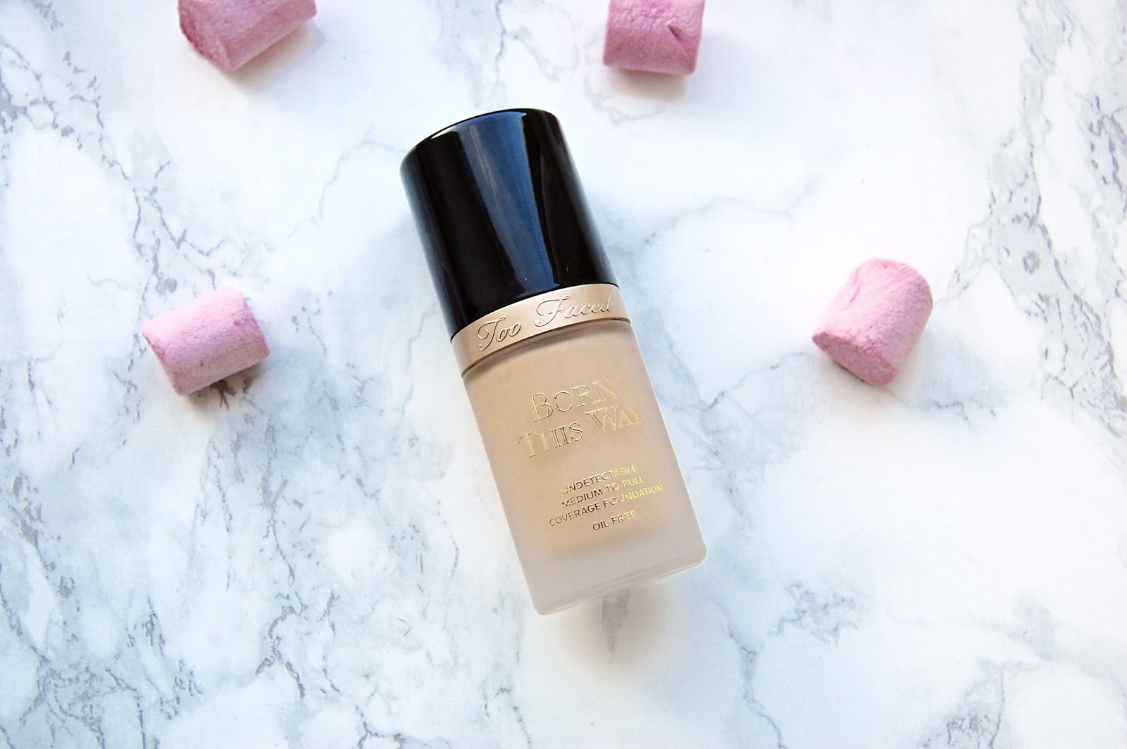 Read my Too Faced Born This Way foundation review here