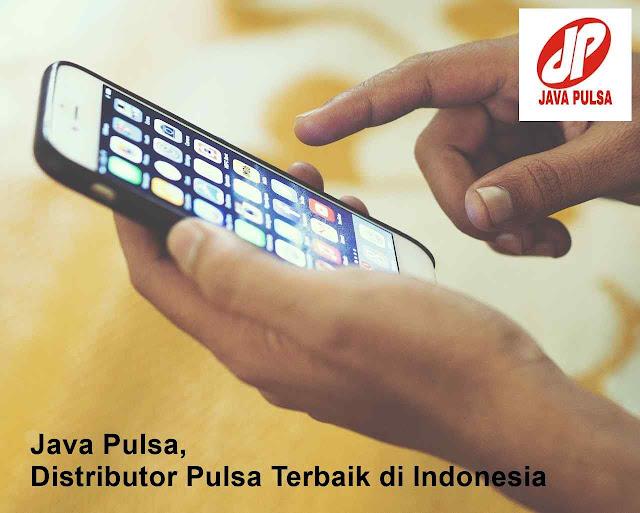 Java Pulsa, Distributor Pulsa Terbaik di Indonesia