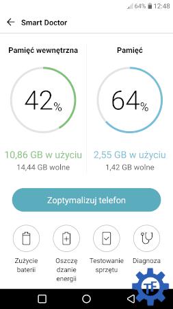 Smart Doctor interfejs aplikacji