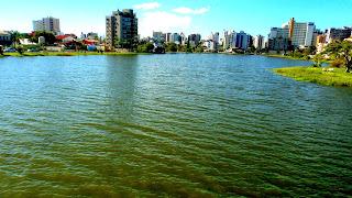 Lagoa do Violão, em Torres