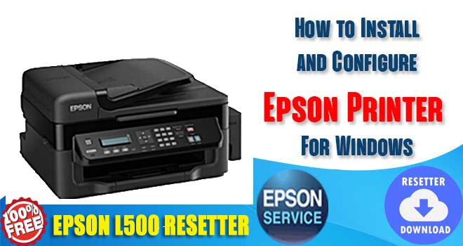 Epson L500 Adjustment Program