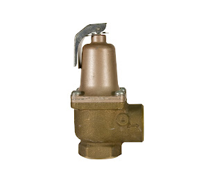 Brass safety valve for industrial process control and safety
