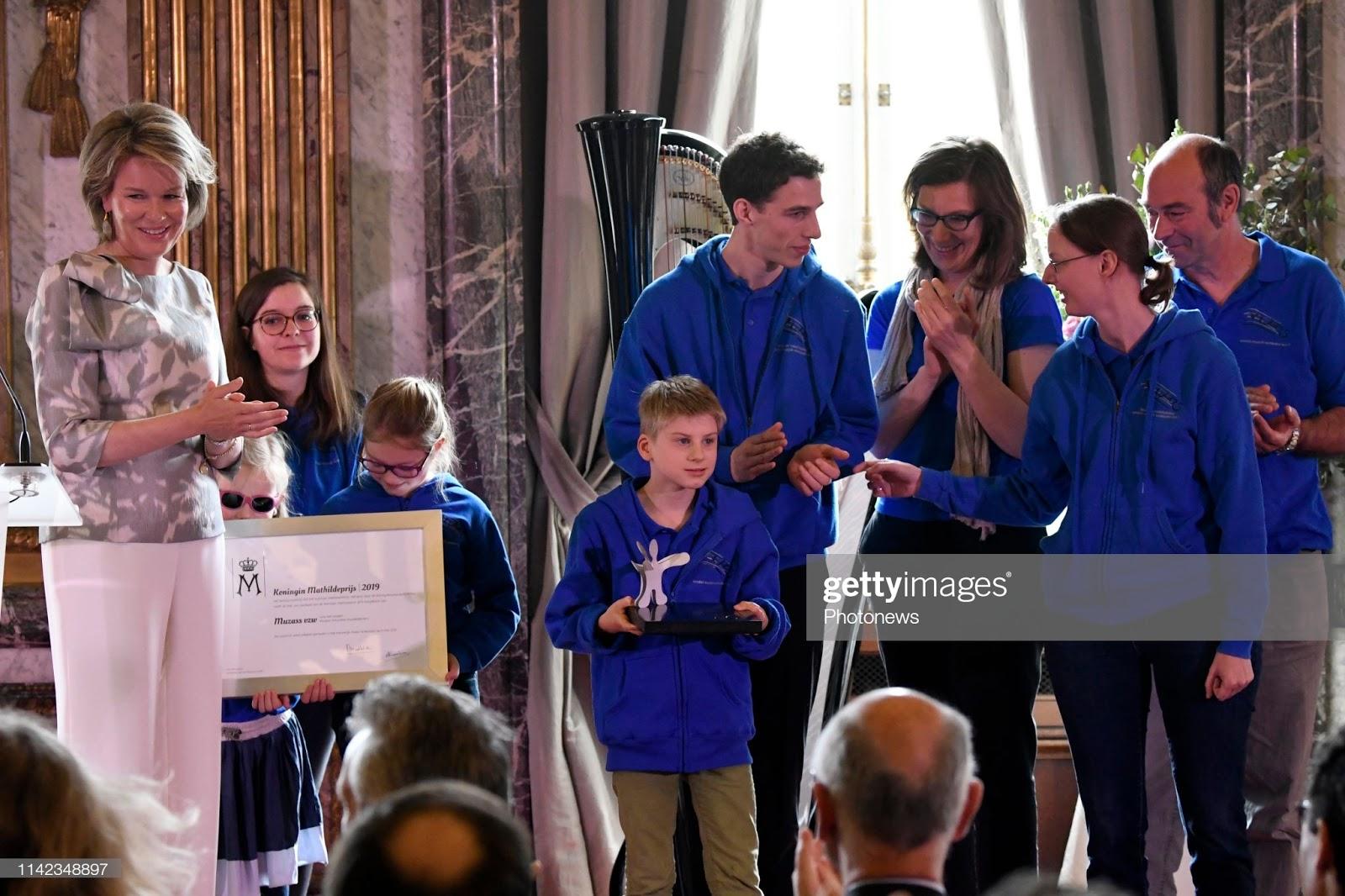 Queen Mathilde: Queen Mathilde Award 2019