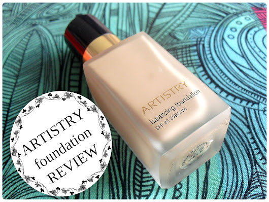 ARTISTRY Balancing Foundation - Review