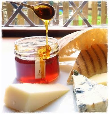 white truffle honey with cheeses