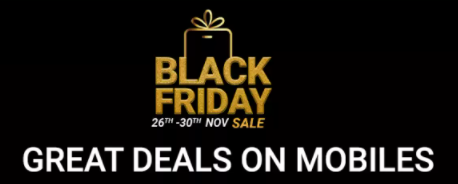 Flipkart Black Friday Sale 26th-30th November
