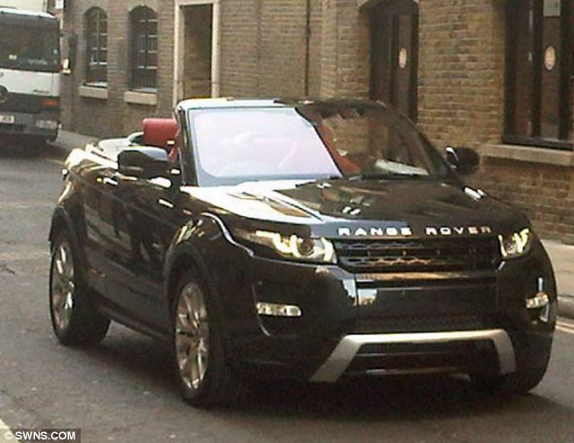 ally on cars convertible 4x4 the new range rover evoque. Black Bedroom Furniture Sets. Home Design Ideas