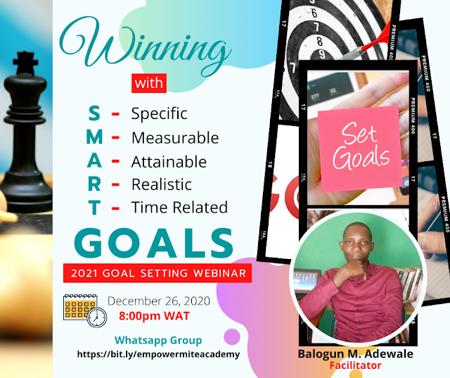 Winning with SMART Goals