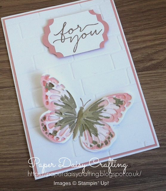 Watercolor Wings from Stampin' Up!
