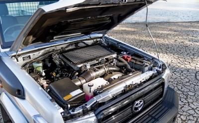 2019 Toyota Land Cruiser 79 Engine