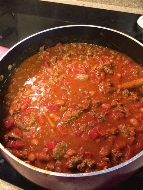 Sweet taste easy chili
