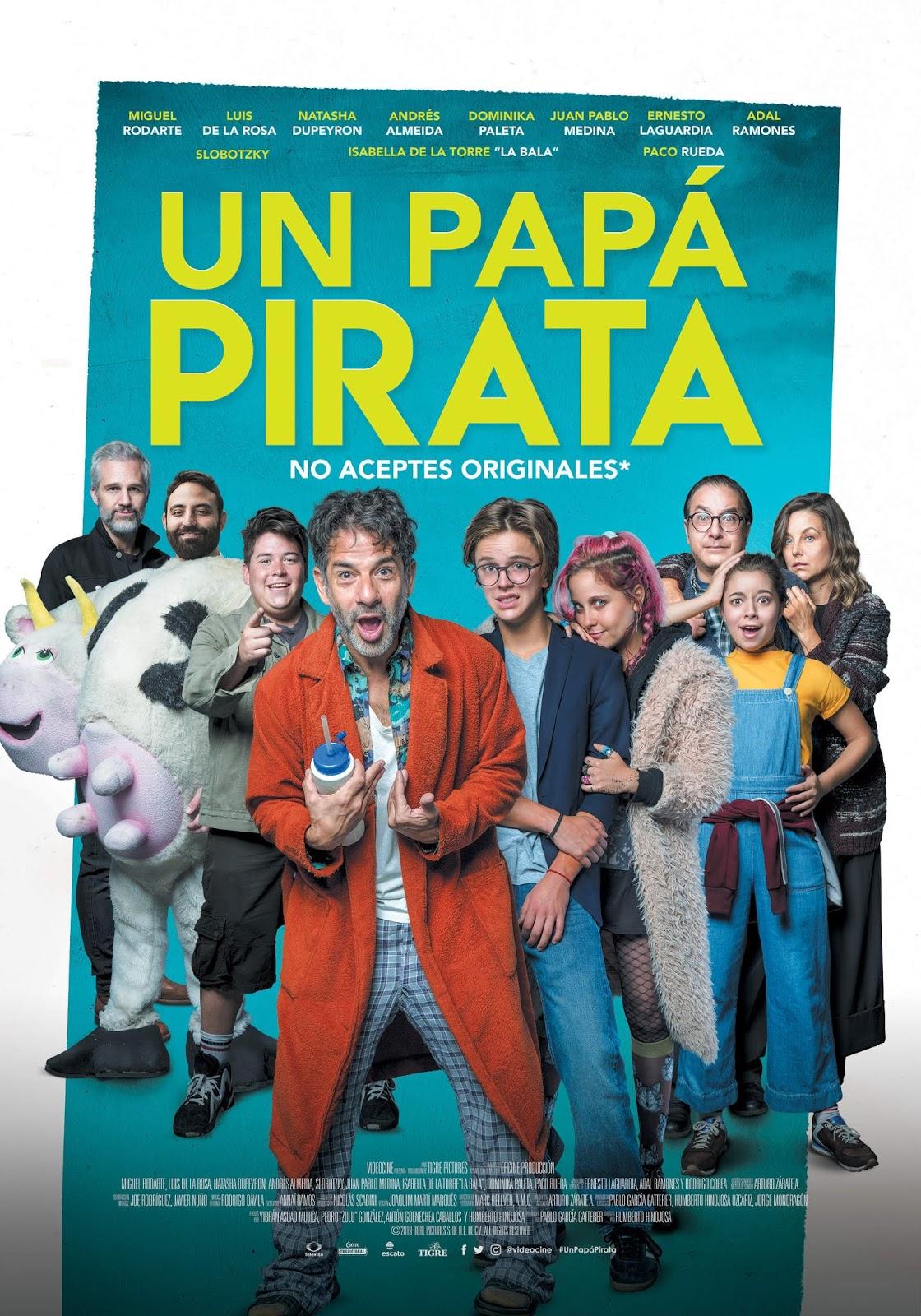 Un papá pirata [2019] [DVD R4] [NTSC] [Latino]