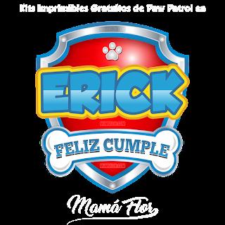 Logo de Paw Patrol: Erick