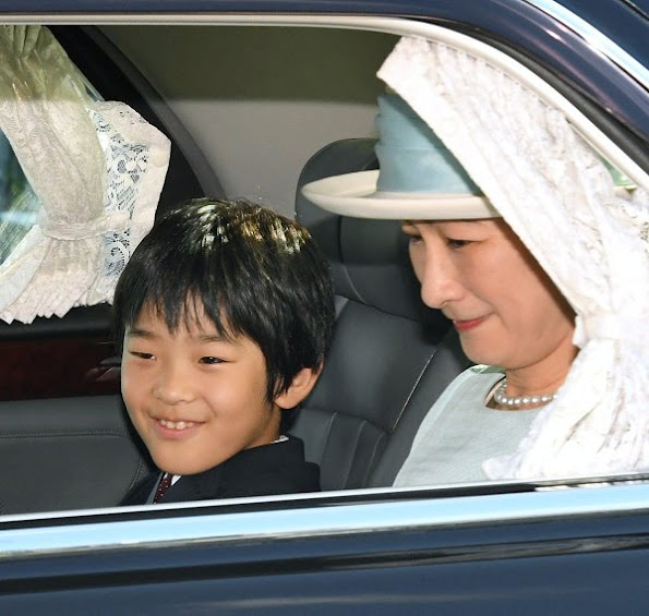 Happy birthday to you Prince Hisahito of Akishino, Princess Kiko, Emperor Akihito of Japan and Empress Michiko