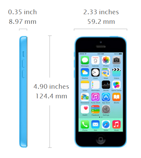 Spesifikasi Apple Iphone 5C Terbaru