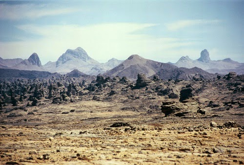 The Sahara Desert Is Alive With Volcanoes Chic African