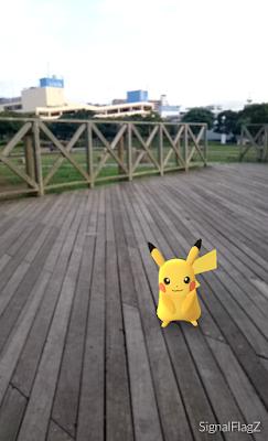 Pikachu, Umikaze Park