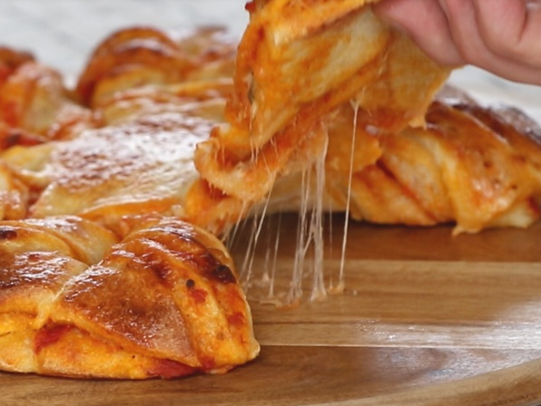 Best Pull Apart Pizza Braid