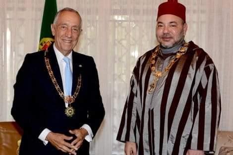 """جلالة الملك محمد السادس نصره الله  يتمنى للرئيس البرتغالي الشفاء من """"كورونا"""""""