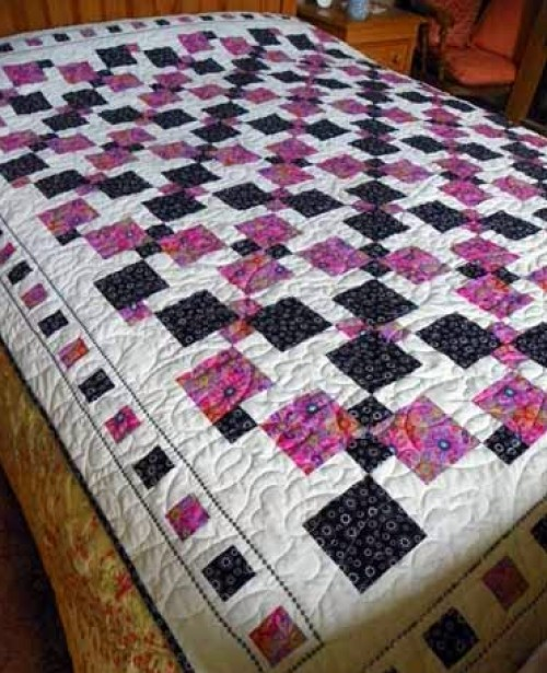Disappearing Nine Patch - Quilt Tutorial
