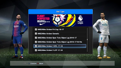 PES 2013 PES Space Patch v4 Season 2017/2018