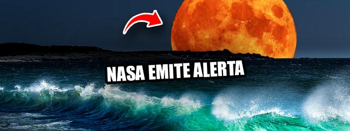 nasa alerta - mudanças na orbita da lua devem causar inundações e desastres naturais a partir de 2030
