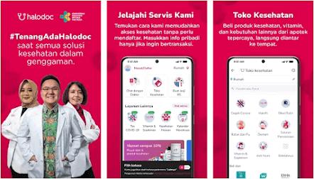 Aplikasi Konsultasi Dokter Gratis - Halodoc