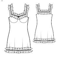 تحميل الباترون ملابس النوم النسائية