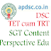 Avanigadda DSC SGT Content From Old Books Study Material and Perspective of Education - Download