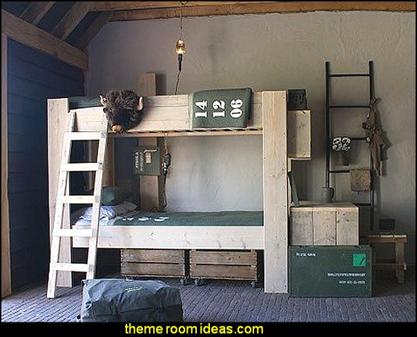 Army Theme Bedrooms   Military Bedrooms Camouflage Decorating   Army Room  Decor   Marines Decor Boys