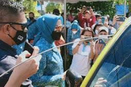 Widya Murad Ismail Pimpin Rapid Antigen Gratis di Malra