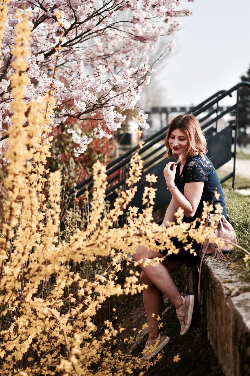 look femme de printemps